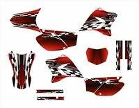 Ttr230 Graphics Decal Kit 2005 - 2015 2500 Red Free Custom Service
