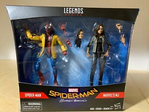 "Brand New Marvel Legends Series Spider-Man /& MJ Homecoming 6/"" Action Figures"