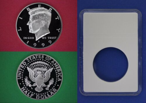 1989 P John Kennedy Half Dollar With DIY Slab from Mint Set Combined Shipping