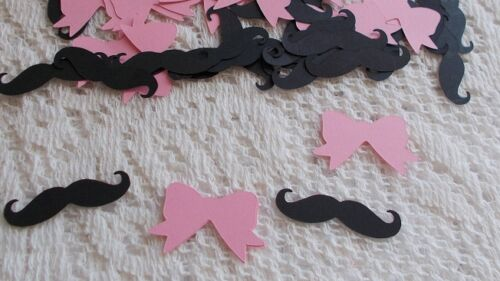 Gender Reveal Table Confetti  150 pieces
