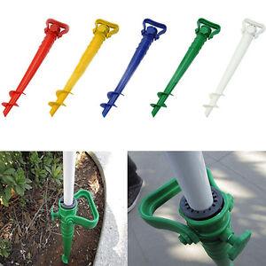 1X-Garden-Beach-Umbrella-Holder-Parasol-Spike-Umbrella-Stand-ss