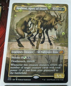 FOIL NETHROI APEX OF DEATH Ikoria IKO Magic MTG MINT CARD SHOWCASE
