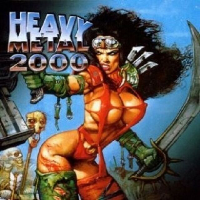 OST/VARIOUS - HEAVY METAL 2000 CD SOUNDTRACK NEW