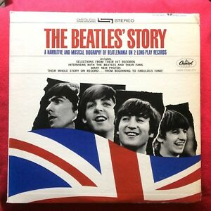 The-Beatles-039-Story-USA-2-x-LP-STBO-2222-CAPITOL-APPLE-vinile-Lennon-McCartney
