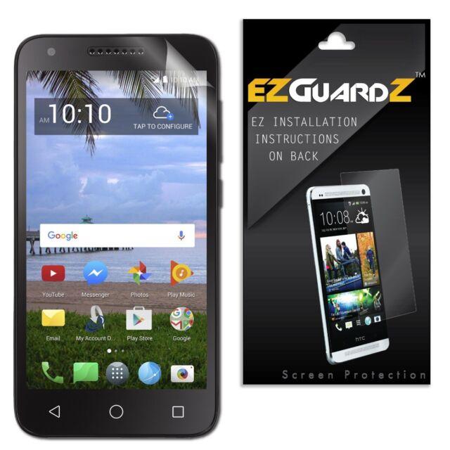 3x EZGuardZ Screen Protector Shield HD 3x for Alcatel TCL LX