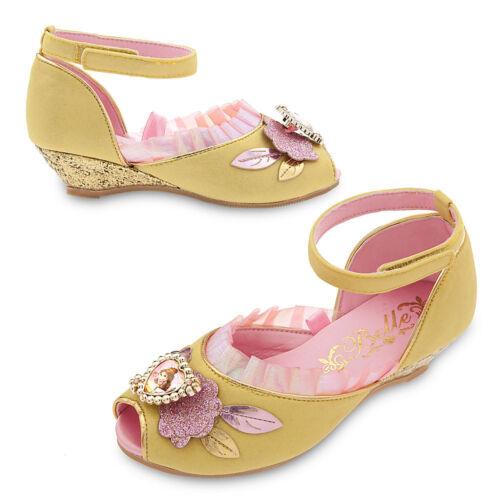 Disney Store Princess Belle Costume Dress Shoes Girl Size 11//12