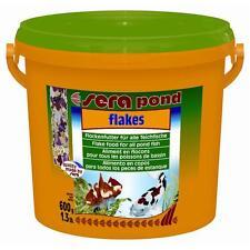 Sera pond flakes 3800ml, Flockenfutter für kleinere Teichfische und Jungfische