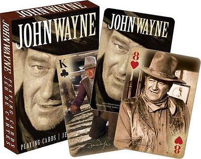 John Wayne Playing Cards