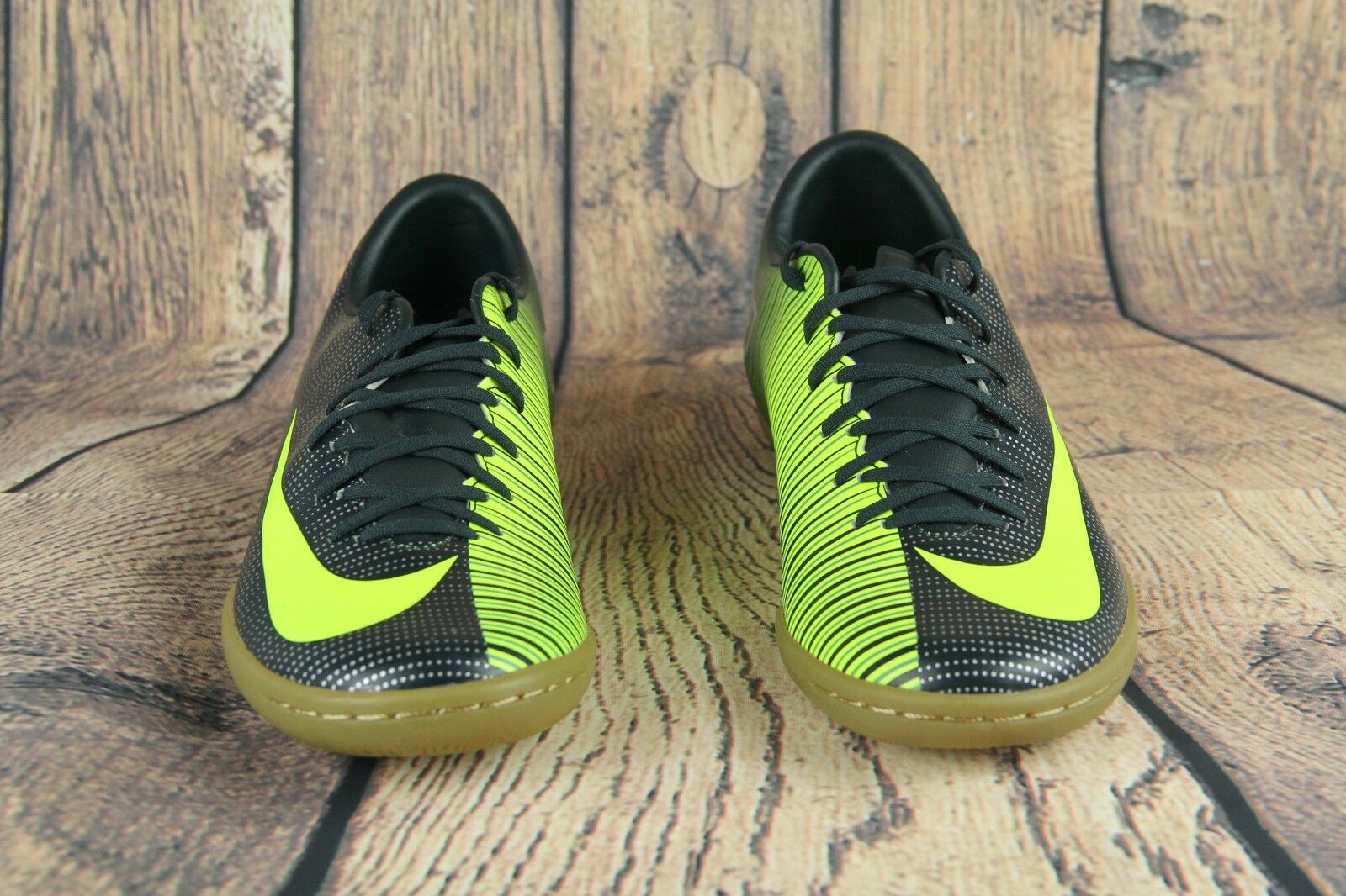4207ee48ede NIKE MERCURIALX VICTORY VI CR7 IC SOCCER SHOES SEAWEED VOLT 852526-376 Size