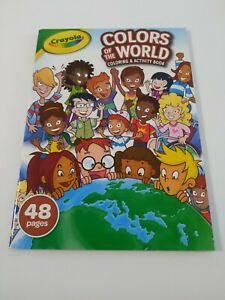 New-Crayola-Colors-Of-The-World-Coloring-And-Activity-Book-48-pages-Ages-3