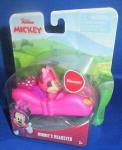 Disney-Jr-Diecast-Mickey-y-la-Roadster-Corredores-MINNIE-Roadster-Nuevo-Look