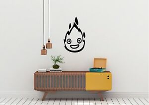 Howls-Moving-Castle-Flame-Anime-Inspired-Design-Wall-Art-Decal-Vinyl-Sticker