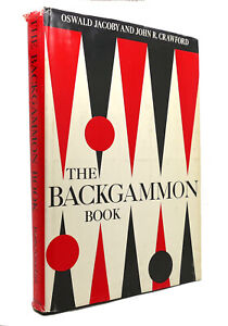 Oswald Jacoby & John Crawford THE BACKGAMMON BOOK  1st Edition 1st Printing