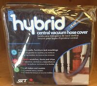 Central Vacuum Hose Sock/cover Now With Zipper (30 Foot)