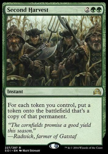 MTG NM MAGIC THE GATHERING SHADOWS OVER Innistrad SECOND HARVEST