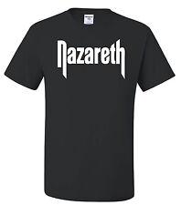 NAZARETH 50/50 T-shirt - S to 6XL - Classic Rock Band Legend