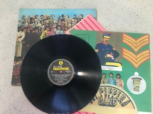 "The Beatles ""Sgt Peppers Lonely Hearts Club Band"" – original 1966 edition."