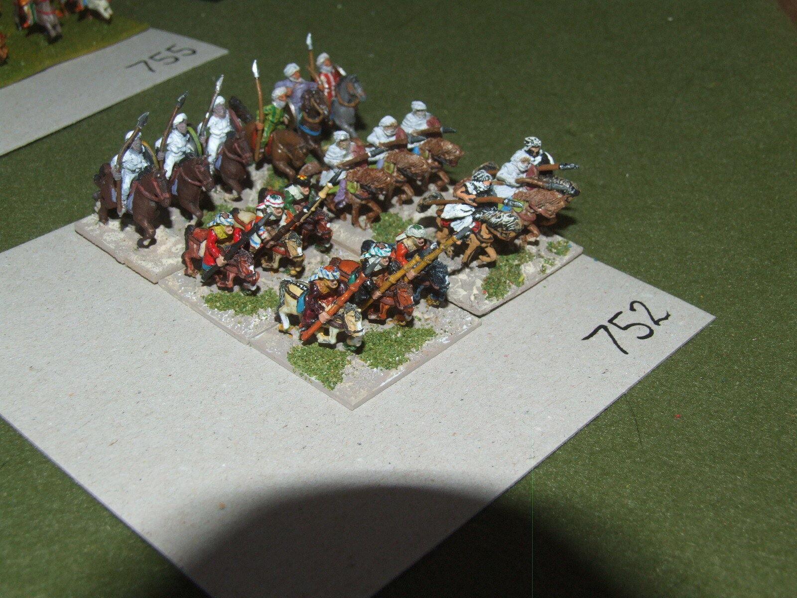 15mm medieval   saracen - Cavalry 18 Cavalry - cav (A752)