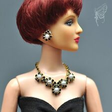 "handmade Tonner Tyler 16"" doll jewelry set necklace+earring for Tonner"
