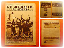 Miroir des Sports 538-13/5/1930-Rugby-U.S.Quillan-A.S.Carcassonne 3-1-Galia