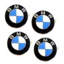 BMW Logo Emblem Plakette selbstklebend 70mm Satz =  4 Stück Aufkleber Logo
