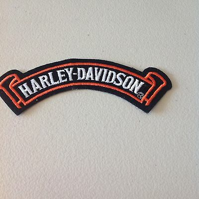 Harley Davidson small banner patch