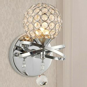 Netmodern Bedroom Lamp : New-Modern-LED-Crystal-Small-Wall-Lamp-sconce-Lights-Bedroom-Bedside ...