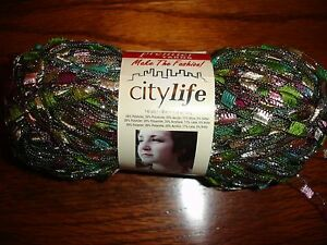 Premier-Yarn-City-Life-Ladder-yarn-NEW-140-yards-1-75-oz-1-ball-Corsage