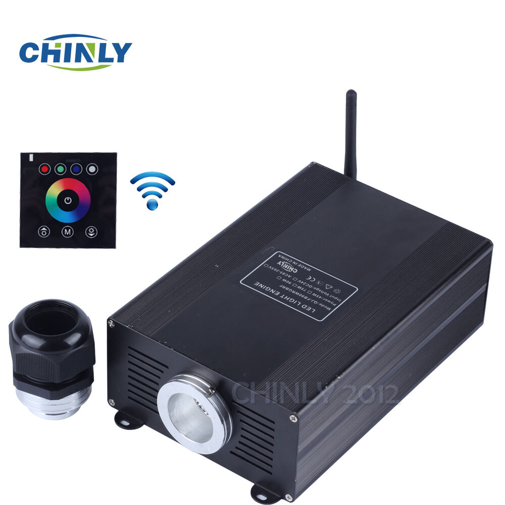 RGB LED Fiber Optic Engine 45W with 2.4G Wireless Touch Controller Good Quality