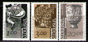 Stamps Gentle Armenia 1993 Sc434,7,9 Mi207-9 3v Definitive Issue Pleasant In After-Taste