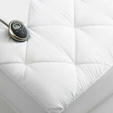 Sunbeam Premium Luxury Quilted Electric Heated Mattress Pad - Twin Size