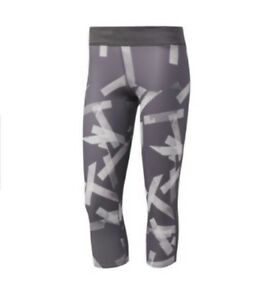 Small 4 Bnwt 3 Adidas Response Femmes Tight PrintGrisTaille zSUMVqp