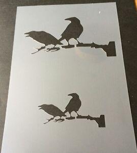 Wolf Halloween Mylar Reusable Stencil Airbrush Painting Art Craft DIY home