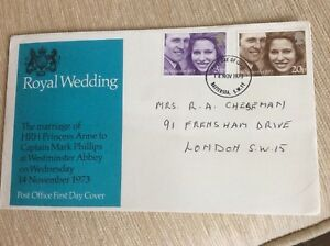 Post-Office-First-Day-Cover-Royal-Wedding-HRH-Princess-Ann