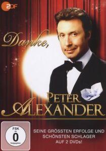 Peter-Alexander-034-Danke-Peter-Alexander-034-2-DVD-NUOVO