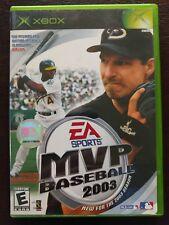 MVP Baseball 2003 (Microsoft Xbox, 2003)