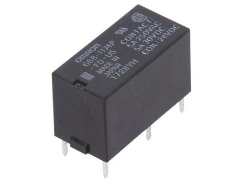 G6B-1174P-FD-US-24 Relay electromagnetic SPST-NO Ucoil24VDC 5A//250VAC OMRON