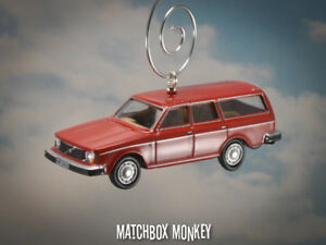 Details About Classic Custom Red Volvo 245 Estate Station Wagon Christmas Ornament 1 76 Adorno
