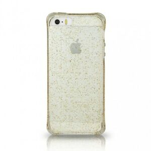 Ballistic-Gold-Glitter-Gel-Plastic-Cover-Case-for-Apple-iPhone-6-4-7-Inch-Clear