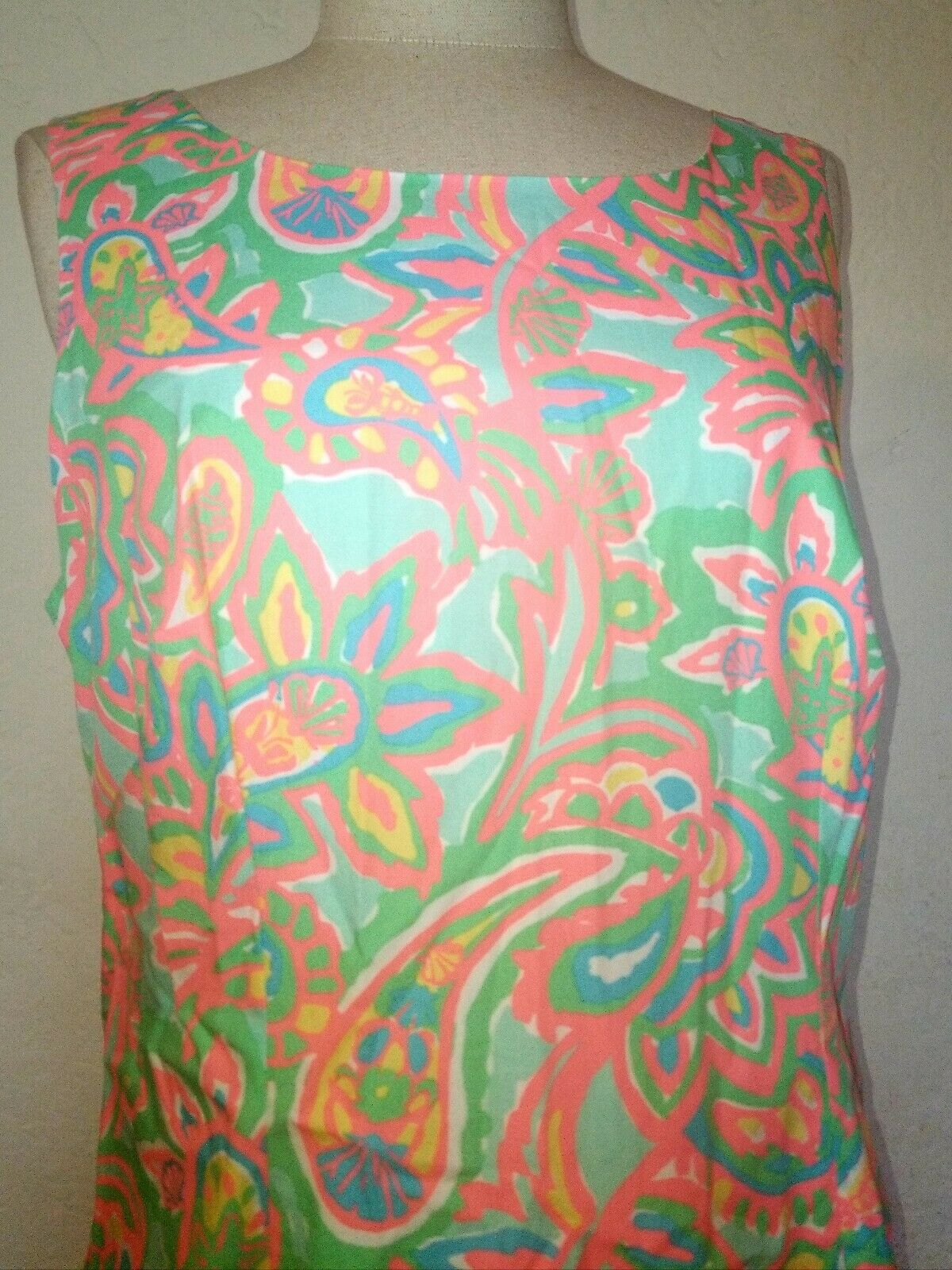 Lilly Pulitzer Paisley Dress Dress Dress Size 10 f54cff