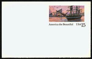 #UX140 15c America El Hermoso: Interior Harbor, sin Usar Cualquier 5=