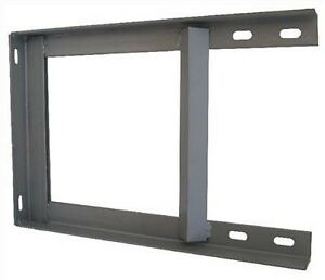 Wall-bracket-18-034-x-12-034-painted-steel-TV-Mast-Aerial-Pole-with-Fixings-not-T-amp-K