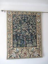 Arte Tapiz Arbol De La Vida William Morris Algodon 100% Verde 104 x 138 cm
