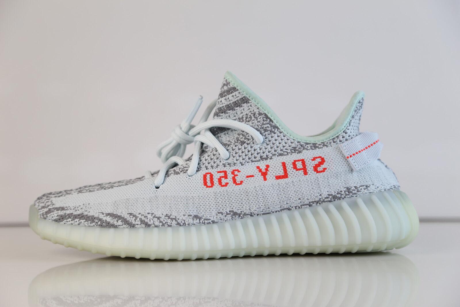 Adidas yeezy impulso kanye kanye impulso west, 350 v2 tinta grigio blu, tre in alta risoluzione b37571 513 1 e51c0c