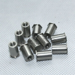 20PCS M334 MM Blind Hole Pressure riveting Stud//Rivet nut Column//Pressure riveting Pieces Rivet Nut