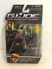 NWOB Gi Joe Heavy Duty Action Figure 2008 Hasbro The Rise of Cobra