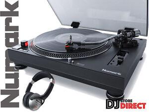 Numark-TT250-Pro-USB-Direct-Drive-Vinile-Record-Giradischi-Lettore-CUFFIE