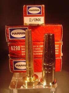 100% Harris 6290 Cutting Tip 2-onx For Medium Duty Cutting avec Propylène gaz-afficher le titre d`origine qrmolgRb-07135207-472195372