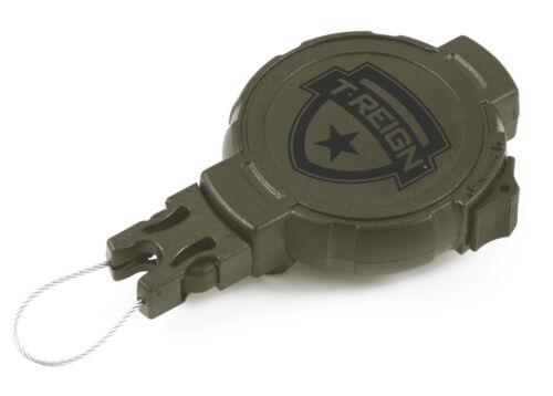 T-Règne de chasse Heavy Duty Rétractable Vitesse Tether avec clip