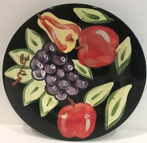 Tabletops Gallery 1-Dinner Plate Hand Painted-Midnight Pattern | eBay